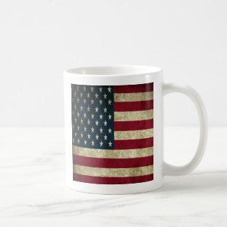 Grunge American Flag Classic Mug