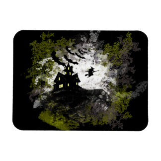 Grunge And Distressed Halloween Background Vinyl Magnet
