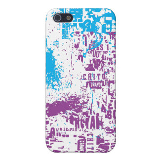 Grunge and Typos Cover For iPhone 5