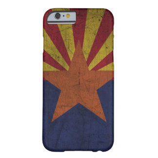 Grunge Arizona Flag Barely There iPhone 6 Case