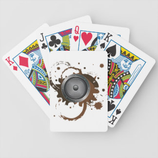 Grunge Audio Speaker 2 Poker Deck