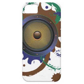 Grunge Audio Speaker 3 iPhone 5 Case