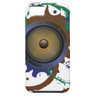 Grunge Audio Speaker 3 iPhone 5 Cases