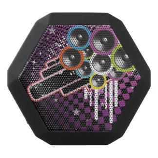 Grunge background black boombot rex bluetooth speaker
