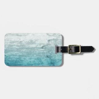Grunge backward vintage wooden texture luggage tag