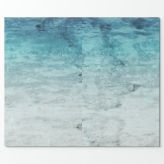 Grunge backward vintage wooden texture wrapping paper