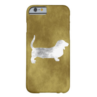 grunge basset hound barely there iPhone 6 case