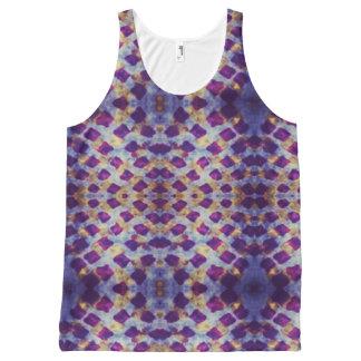 Grunge batik All-Over print singlet