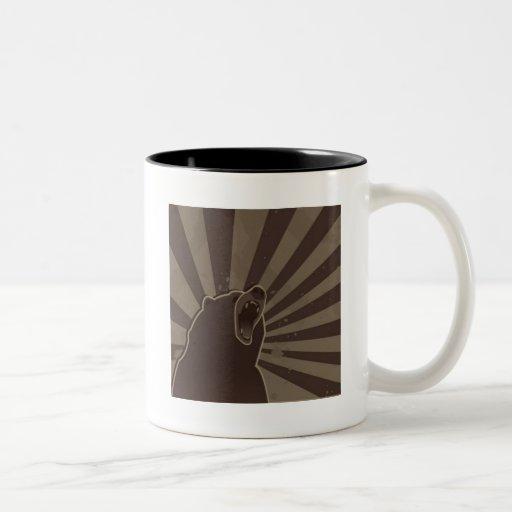 Grunge Bear Mugs