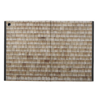 grunge beige wood wall texture iPad air case