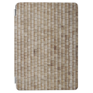 grunge beige wood wall texture iPad air cover