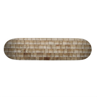 grunge beige wood wall texture skateboard