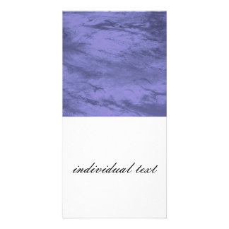 Grunge BLUE Picture Card