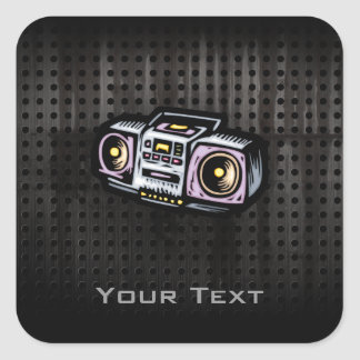 Grunge Boombox Stickers