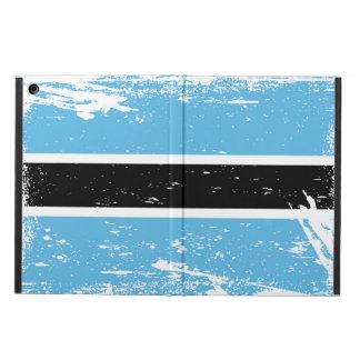 Grunge Botswana Flag iPad Air Cases