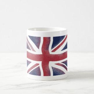 grunge british flag mug
