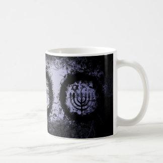 Grunge Chanukah Coffee Mug