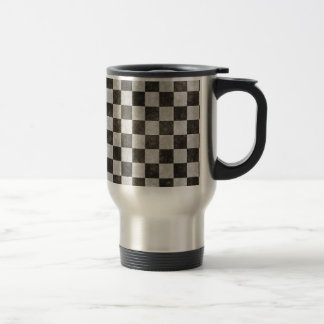 Grunge Checkers Coffee Mugs