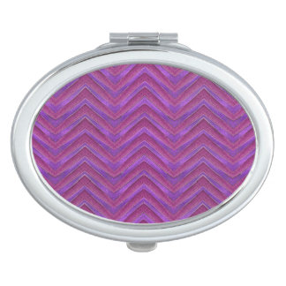 Grunge Chevron Style Mirrors For Makeup