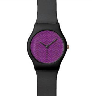Grunge Chevron Style Watches