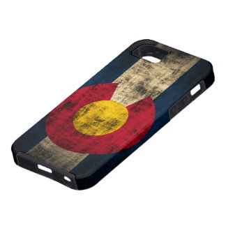 Grunge Colorado Flag iPhone 5 Cases