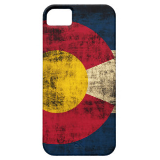 Grunge Colorado Flag iPhone 5 Covers