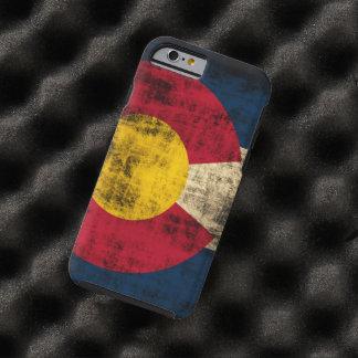 Grunge Colorado Flag Tough iPhone 6 Case