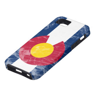 Grunge Colorado State Flag iPhone 5 Case