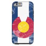 Grunge Colorado State Flag Tough iPhone 6 Case