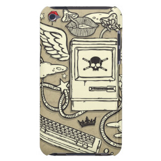 Grunge Computer iPod Case iPod Touch Cases