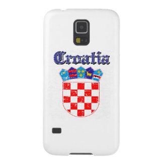 Grunge Croatia coat of arms designs Galaxy S5 Case