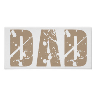 Grunge Dad Poster