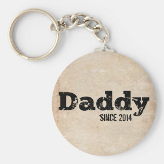 Grunge Daddy Since 2014 Keychains