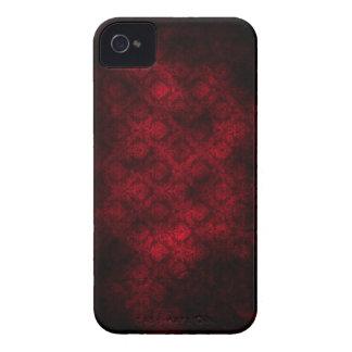 Grunge Damask (Dark Red) iPhone 5 Case-Mate iPhone 4 Case
