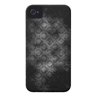 Grunge Damask (Grey) iPhone 4 iPhone 4 Cases