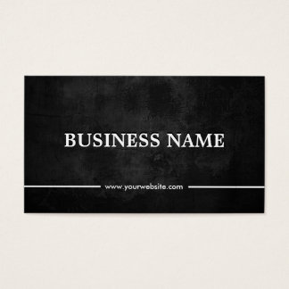 Grunge Dark Video Editor Business Card