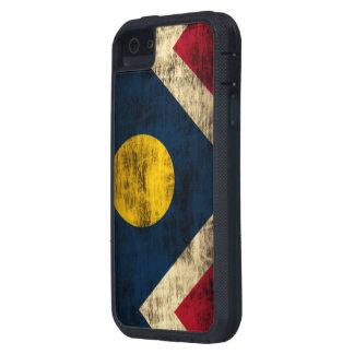 Grunge Denver Colorado Flag iPhone 5 Covers