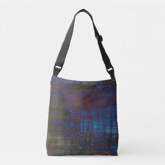 Grunge Designer Sling Bag - School Bag Tote Bag