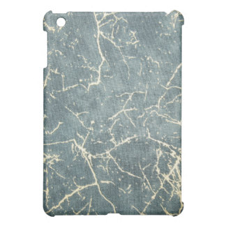 Grunge Distress Denim Pattern Speck iPad Case