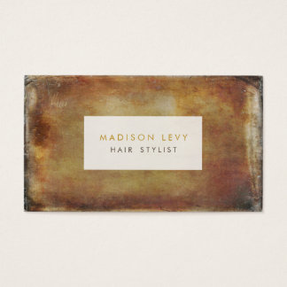 Grunge Distressed Hair Salon Stylist Appointment Business Card