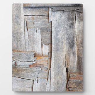 GRUNGE DISTRESSED WOOD TEXTURE.jpg Plaque