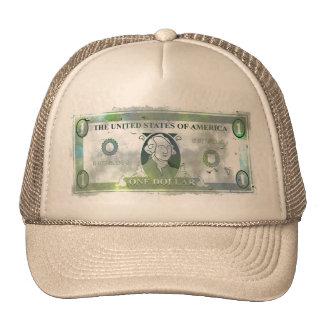 Grunge Dollar Trucker Hats