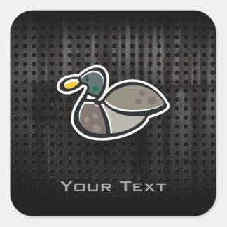 Grunge Duck Stickers