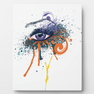 Grunge Fashion Eye Plaque