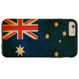 Grunge Flag of Australia Tough iPhone 6 Plus Case