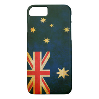 Grunge Flag of Australia iPhone 7 Case