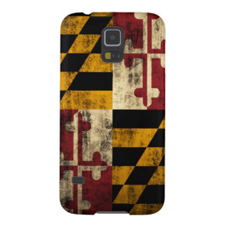 Grunge Flag of Maryland Galaxy S5 Case