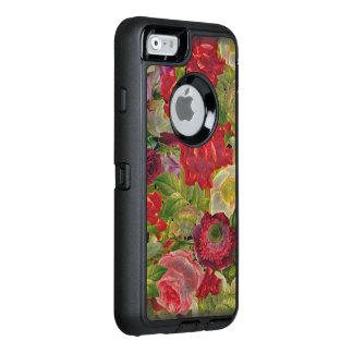 Grunge Flower Garden OtterBox Defender iPhone Case
