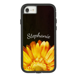 Grunge Flower Painting Background with Name Case-Mate Tough Extreme iPhone 8/7 Case