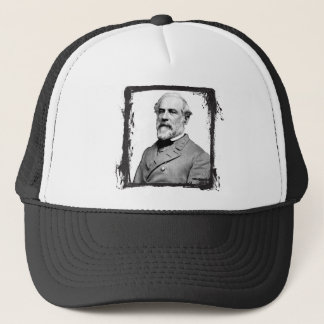 Grunge Frame General Robert E. Lee USA Trucker Hat